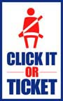 DOT Click It Or Ticket Seatbelt Usage Encouragement